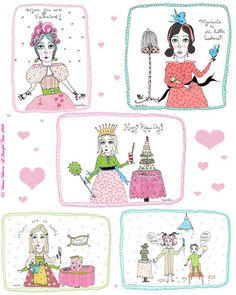 Mother's Day Cardlettes Free Printables