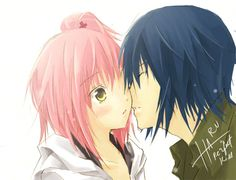 Amu and Ikuto. Ikuto's Heat. Amu has finally graduated high school when Ikuto appeared one night coming in thru her new apartment bedroom window. Breathing hard he looked at her with hungry eyes. Pinning her against the wall he confessed that he was madly in heat and needed her to ease his pain. What will Amu do to this sudden confession? Warning: Full of lemons! Enjoy! :) Story link: https://www.fanfiction.net/s/10352564/1/Ikuto-s-Heat