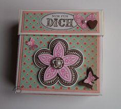 Triple Treat Flower Box Stampin UP