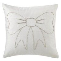 My Favorite Bow Throw Pillow