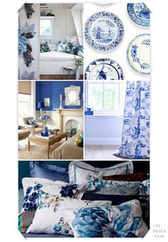 A little goes a long way...Blue Willow inspirations