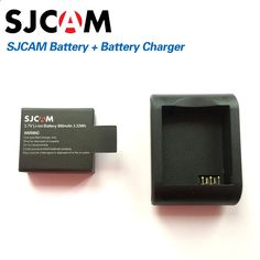 SJCAM Brand Accessories Battery and Battery Desktop Charger For SJ CAM SJ4000 SJ5000 M10 Series Action Sport Camera