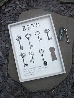 Key rack country style