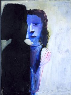 The Gentle Touch Charles Blackman Australian Painters, Australian Artists, Abstract Portrait, Portrait Art, Picasso And Braque, Painting Collage, Paintings, Unusual Art, Indigenous Art