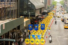Grand Parade of Nearly 10,000 Practitioners in New York to Celebrate World Falun Dafa Day