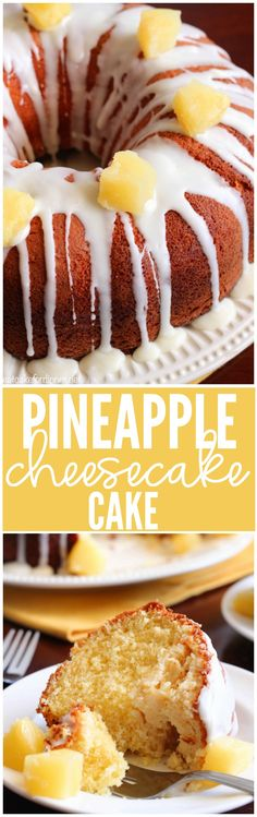 This Pineapple Cheesecake Cake is so easy to make and impressive!!