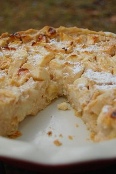 IKEA apple pie/cake or Swedish Sour cream apple pie | Neo-Homesteading