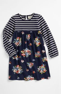 Mini Boden 'Hotchpotch' Dress (Toddler, Little Girls & Big Girls) available at #Nordstrom $34.00