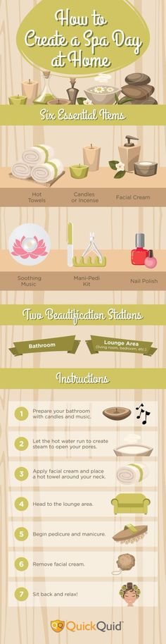 DIY Spa Day | How To Turn Your Home Into A Spa