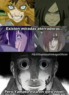 Yamato is still the creepiest one alive.. #Naruto memes