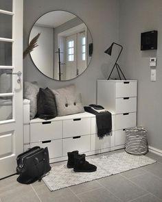 Room Ideas Bedroom, Home Bedroom, Decor Room, Living Room Decor, Diy Home Decor, Modern Bedroom, Simple Bedrooms, Master Bedroom, Bed Room