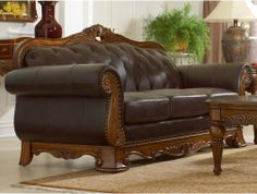 Golden Eagle Leather Living Room Sofa by Home Elegance http://www.maxfurniture.com/living-room/seating/golden-eagle-leather-living-room-sofa-by-home-elegance.html #decor #furniture