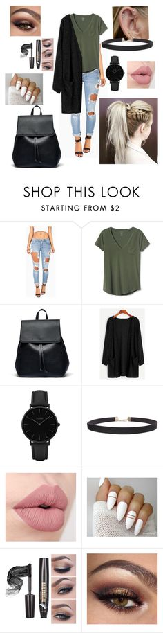 """Untitled #205"" by caiaia ❤ liked on Polyvore featuring Machine, Gap, Sole Society, CLUSE, Humble Chic and imthankfulfor"