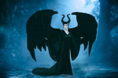 Maleficent cosplayer