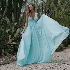 Blue Dresses, Prom Dresses, Formal Dresses, High Street Fashion, Videos Online, Elegant Dresses, Fashion Online, Ukraine, Like4like