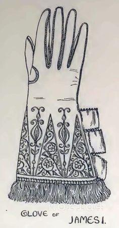 Gloves of King James I