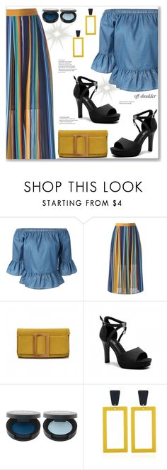 """Casual Colorful Skirt"" by jecakns ❤ liked on Polyvore"