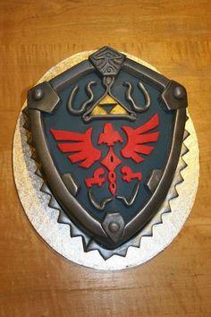 Cool Legend of Zelda video game cake