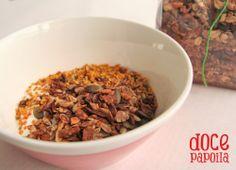 Granola de canela Doce Papoila, iogurte e o tal ingrediente secreto  (aspecto maravilhoso, não?)