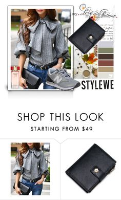 """STYLEWE outerwear for autumn"" by autumn-soul ❤ liked on Polyvore featuring New Balance and stylewe"