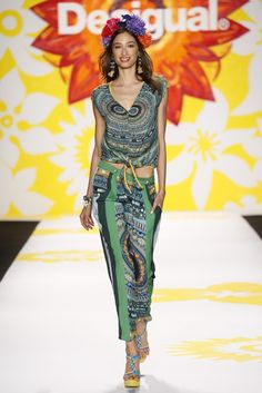 Desigual RTW Spring 2015 - Slideshow - Runway, Fashion Week, Fashion Shows, Reviews and Fashion Images - WWD.com