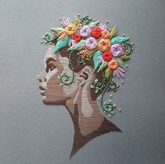 And Flower Lady