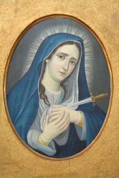 Nuestra Señora De Los 7 Dolores  Dolorosa  $13,082.72 USD Mexico Arte