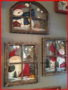 Noel Christmas, Christmas Signs, Homemade Christmas, Rustic Christmas, Winter Christmas, Christmas Ornaments, Christmas Windows, Christmas Christmas, Christmas Vacation