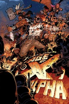 Age of X - Alpha by Chris Bachalo *
