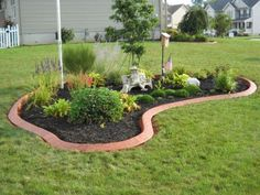 Flag Pole Landscaping, Small Yard Landscaping, Landscaping With Rocks, Landscaping Ideas, Inexpensive Landscaping, Landscaping Company, Modern Landscaping, Landscape Borders, Lawn And Landscape