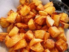 Batata frita de panela de pressão