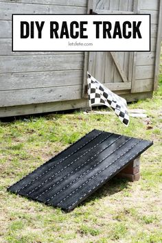 DIY Race Track ~ the
