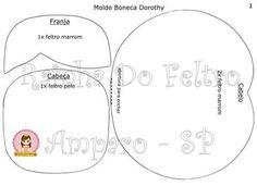 (1) Feltro Fácil - Moldes e Apostilas