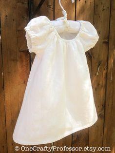 4137d79d4147d Linen Peasant Style Baby Girl Dress Girls Fashion Clothes, Baby Girl Fashion,  Kids Fashion