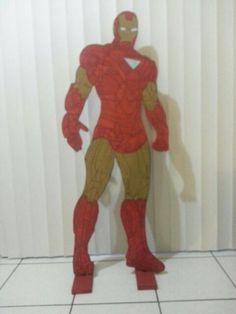 Iron man en madera