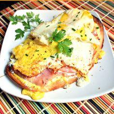Mom, What's For Dinner?: Eggs Benedict Breakfast Flatbread