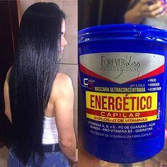 #REPOST @anissacosta Lançamento 🔝 da Forever Liss!! Mascara ultra concentrada, energético capilar!! 👉🏻 vitaminas A, B e E, pó de guaraná, açaí, quinoa, pró vitamina B5 e queratina. Repõe vitaminas e massa capilar 💪🏻 Ameeeei o resultado, fora o perfume que fica no cabelo 😍😍 Nas opções de 240gr (R$39,90) e 950gr (R$89,90). Os produtos Forever Liss Podem ser adquiridos através do site. Confira 👉 www.foreverliss.com.br  #ForeverLiss #cronogramacapilar #banhodebrilho #reconstrucao…