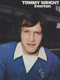 Tommy Wright Everton 1973