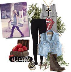 """Skater Girl"" by kimcat16 on Polyvore"
