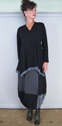Alembika Suduku Skirt and Dora Top with Victoria Boot