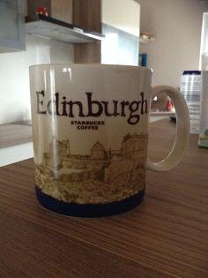 Edinburgh Starbucks City Mug