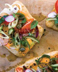 Greek Salad Sandwiches Recipe on Food & Wine