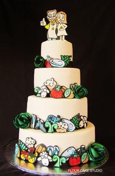 Kiwiana cake by Flour Cake Studio with flax flowers by Flaxation. Diy Christmas Hats, Summer Christmas, Unique Christmas Gifts, Retro Christmas, Christmas Candy, Christmas Photos, Christmas Stencils, Kiwiana, Xmas Food