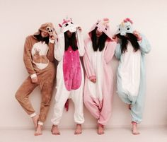 Besties onesies pajamas sleepover slumber party girls model unicorn bff best friends sisters siblings tumblr instagaram artsy goals cute colors pastel creative fun winter break vacation summer fashion inspiration fantasy Disney Disneyland