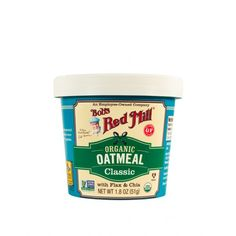 Buy Organic Classic Oatmeal Cup | Bob's Red Mill Gluten Free Cereal, Gluten Free Oatmeal, Oatmeal Cups, Best Oatmeal, Whole Foods Products, Free Products, Bobs Red Mill, Eat Smart, Ben And Jerrys Ice Cream