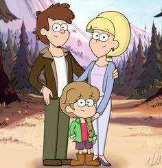 "acat64: ""Dipper Pines Pacifica Pines Gwendolyn ""Gwen"" Pines """