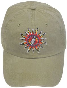 c971bcec Grateful Dead Hat - Sunshine Lightnin' Baseball Cap / hat /Dead and Company  / 13 point lightning bolt / sun
