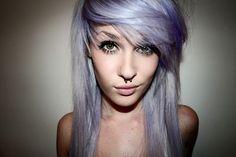 pale hair