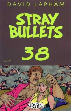 0c4174d6fe2cfc Stray Bullets (El Capitan) by David Lapham. Cover by David Lapham.