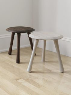 Richard Watson stools, the legs were inspired by bones